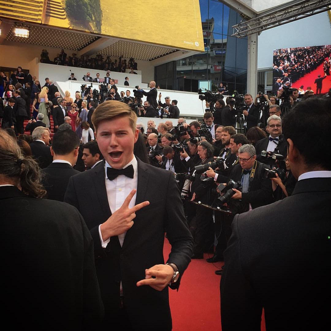 Stijn Spaas in Cannes